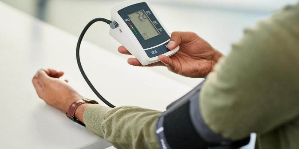 What is the best first line of treatment for hypertension?