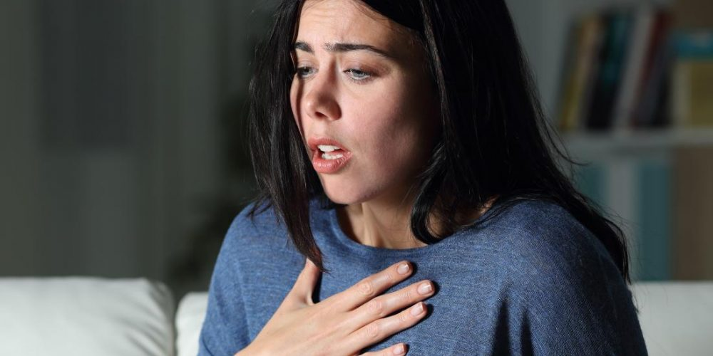 What's the link between anxiety and shortness of breath?