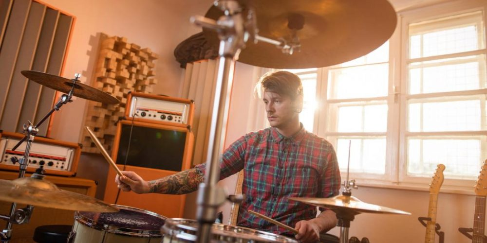 Drumming makes your brain more efficient