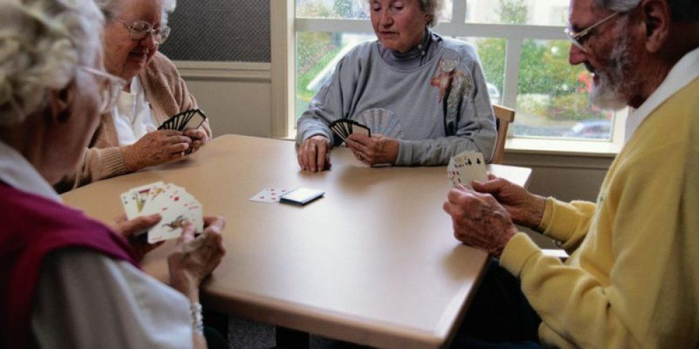 Being Socially Active Helps Older Folk Age Well