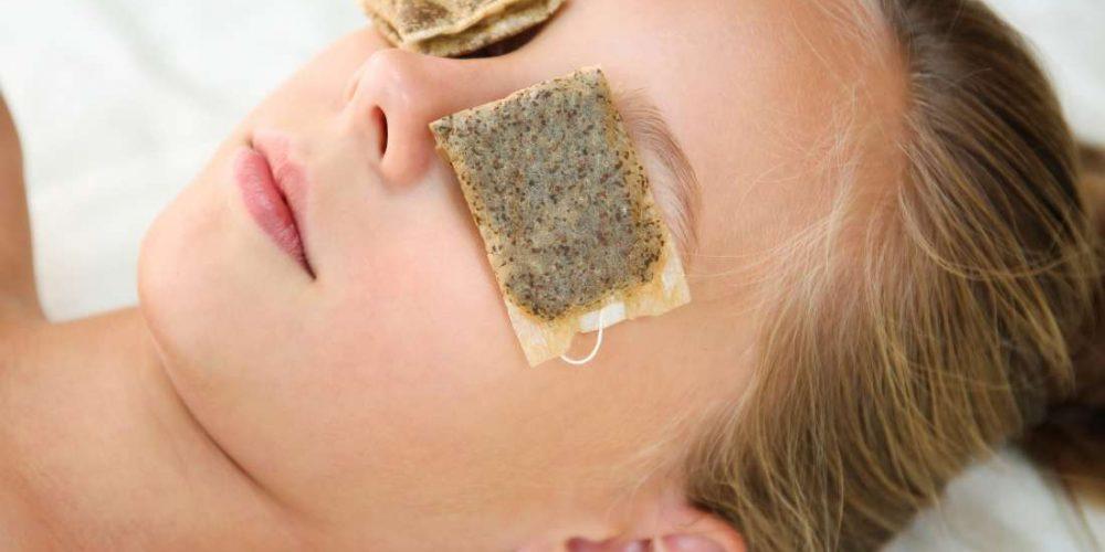 Do tea bags benefit eye health?