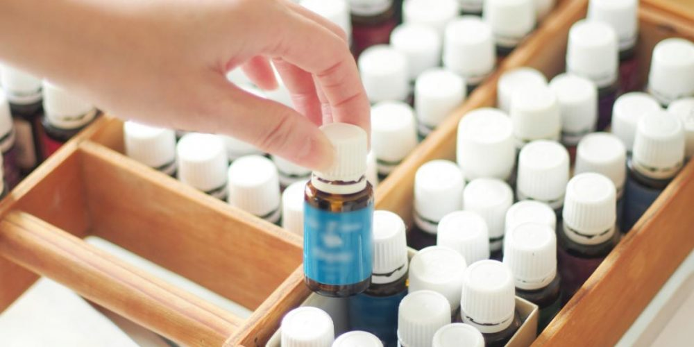 Which essential oils can help with ear infections?