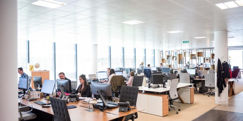 Human breath may significantly affect office air quality