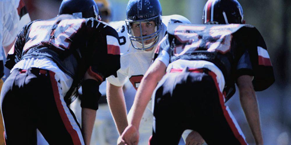 Steady Stream of Lesser Head Hits in Football Can Still Damage Brain