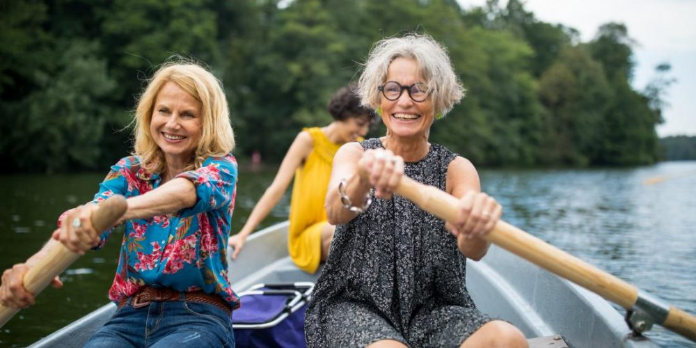 The importance of 'sport-related hobbies' for middle aged women