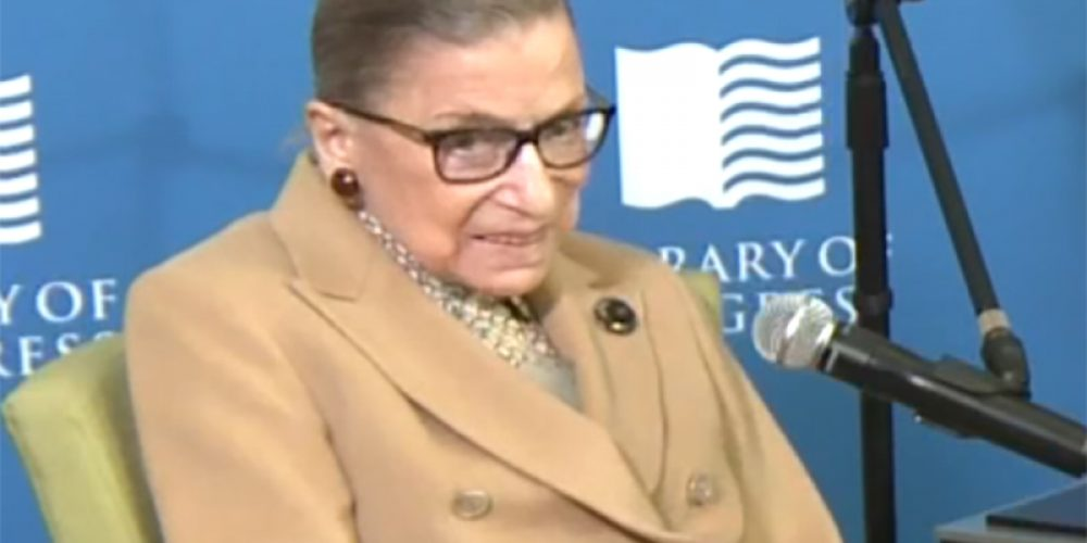 Justice Ruth Bader Ginsburg Has Lung Cancer Surgery