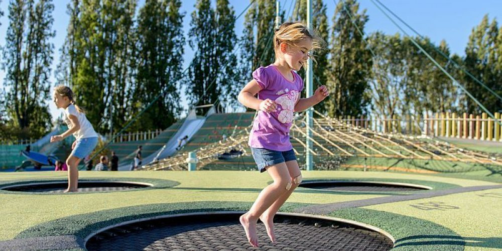 Kids' Trampoline Injuries Take Another Bounce Upwards