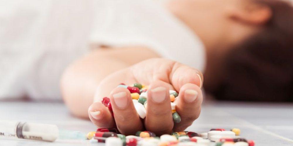 Opioid Overdose Deaths Quadruple, Centered in 8 States