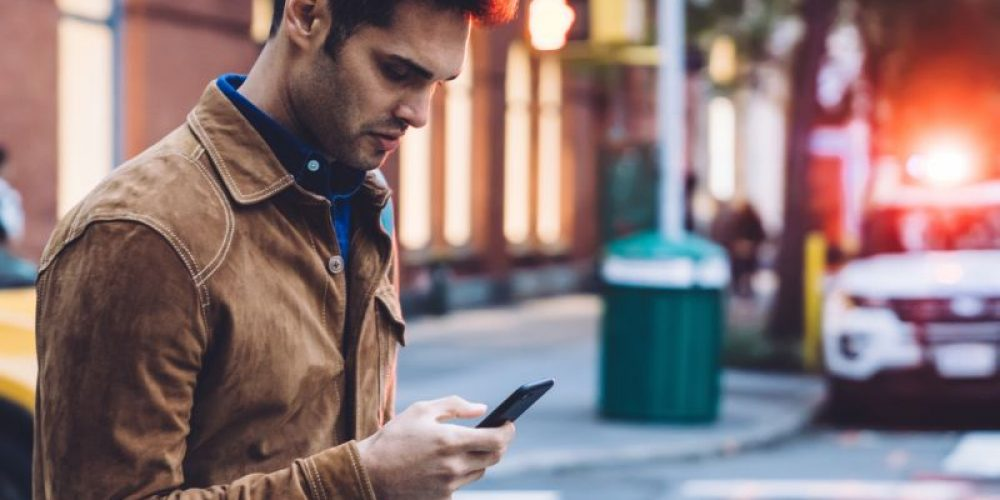 Texting While Walking Is Risky Business