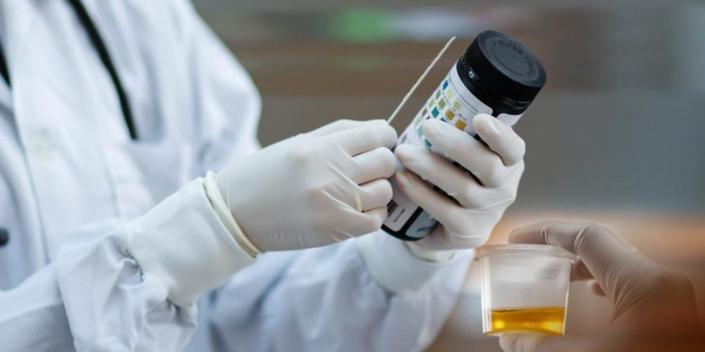 What is the normal pH range for urine?