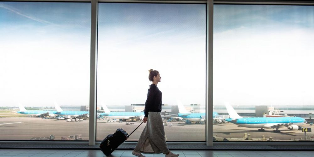 Which airport surfaces carry the most viruses?