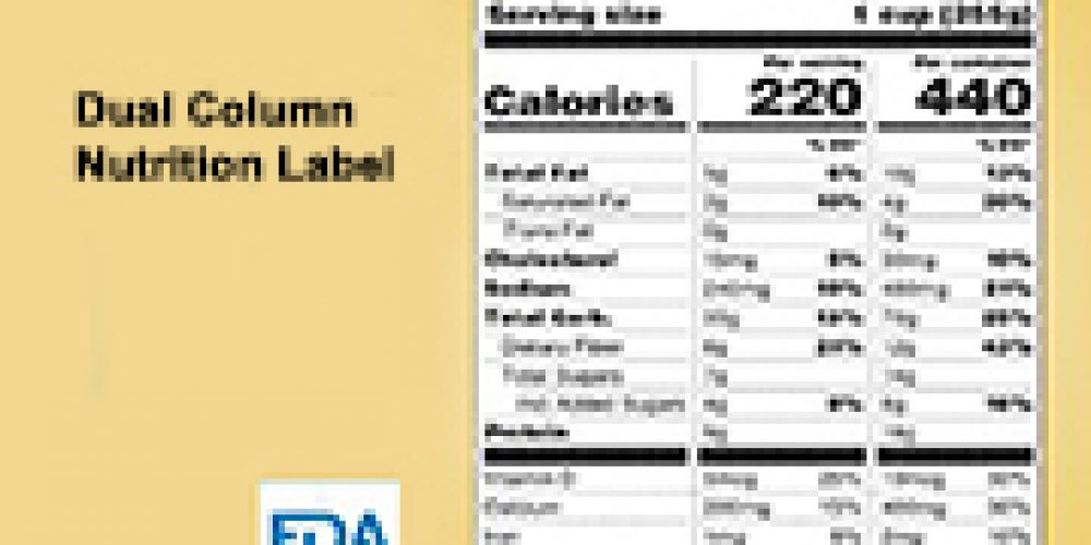 Calories Per Serving or the Whole Package? Many Food Labels Now Tell Both