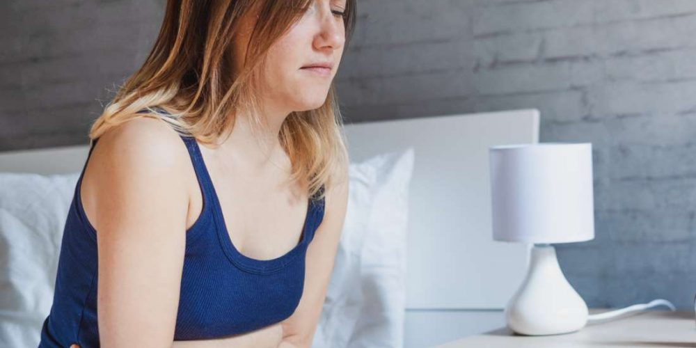 What is the link between anxiety and nausea?