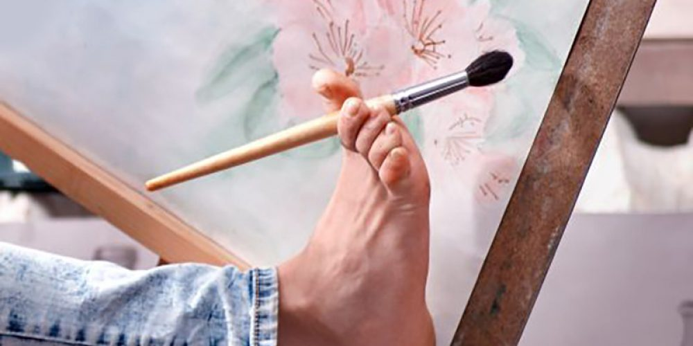 Toes Become Fingers in the Brains of 'Foot Painters'