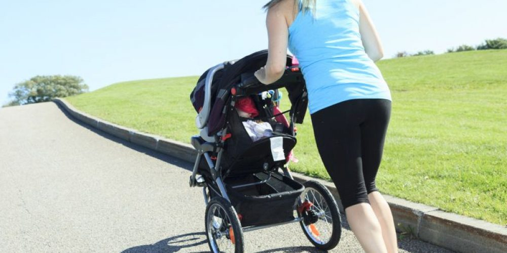 A New Mom Shape-Up: Stroller Walking