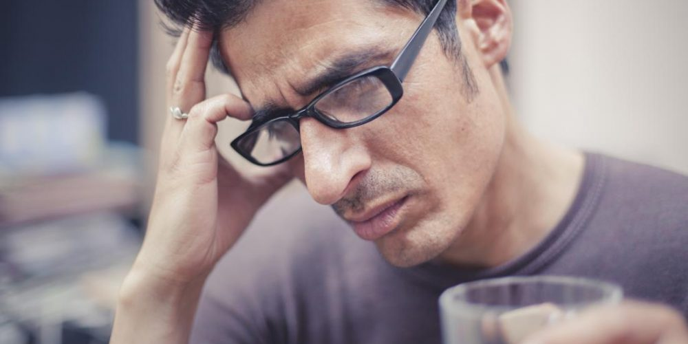 What does a right-sided headache mean?
