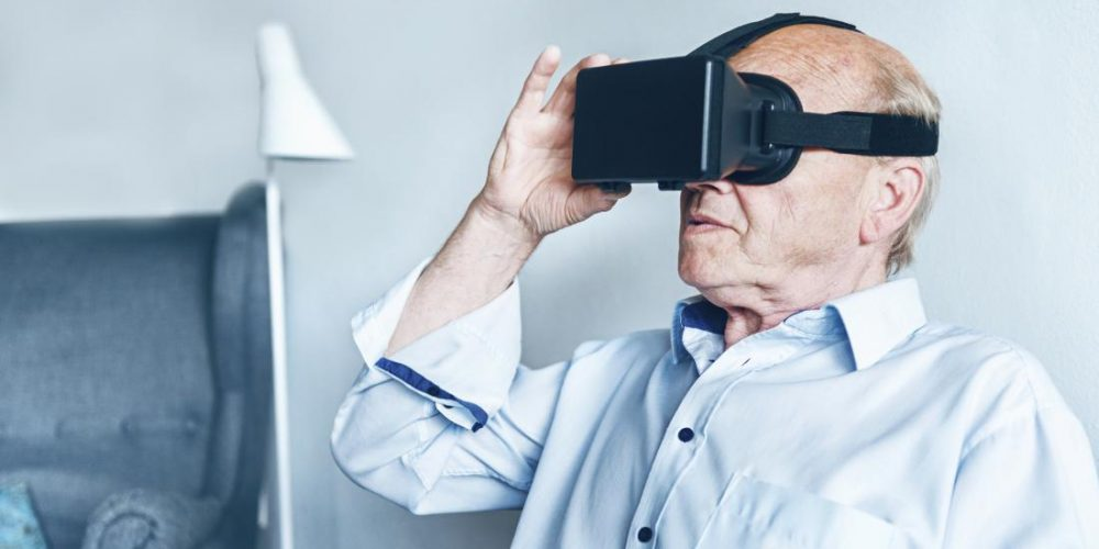 Virtual reality may help stimulate memory in people with dementia