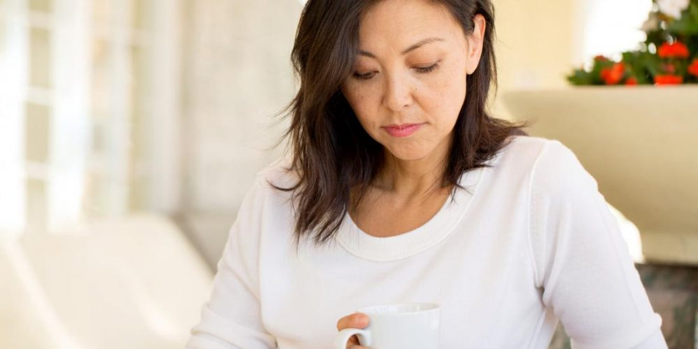 Why does perimenopause cause ovary pain?