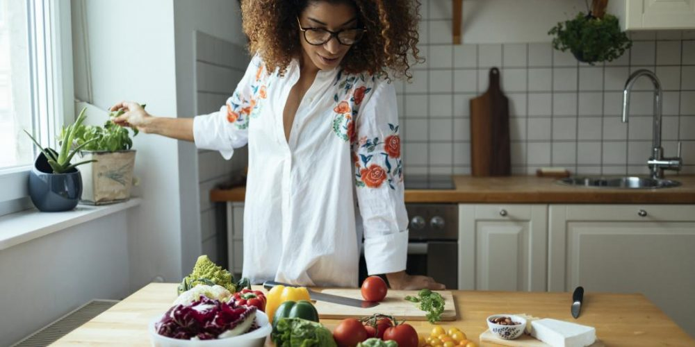 A diet rich in fiber and vegetables can relieve depression