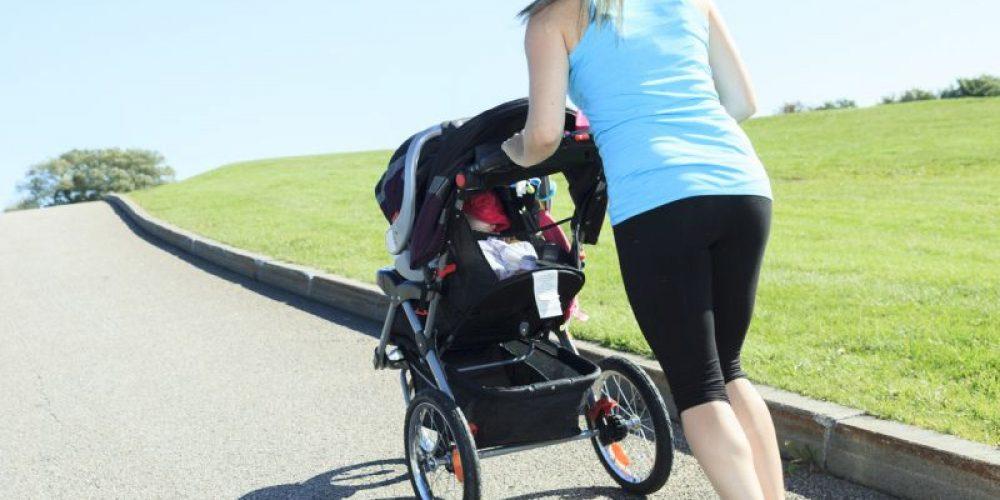 A New Mom Shape-Up: Stroller Walking