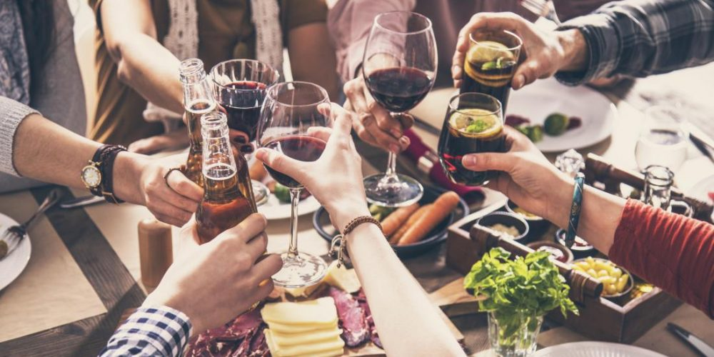 Does drinking beer before wine ease the hangover?