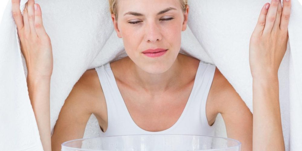How can you clear up sinus congestion?