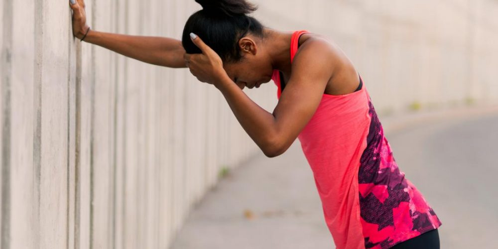 What causes dizziness after a workout?