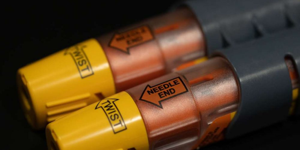 What is an epinephrine injection?